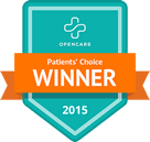 badge patients choice winner 2015